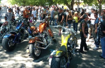 Rallies and bike shows